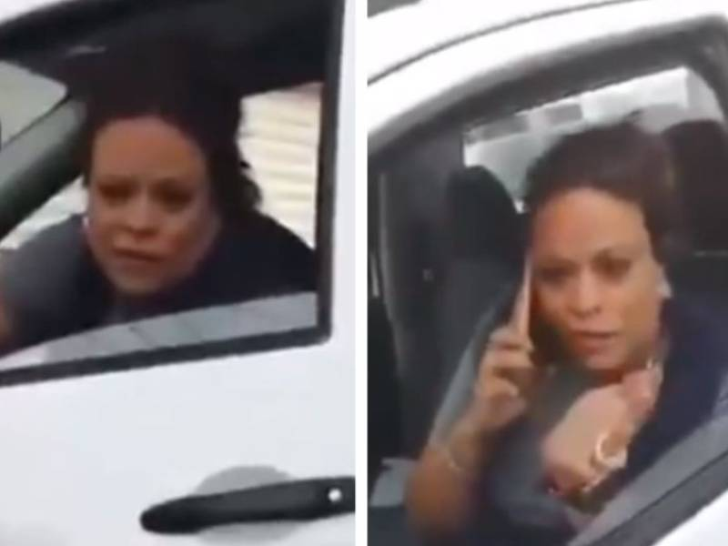 VIDEO: Captan a candidata del PAN manejando borracha e insultando